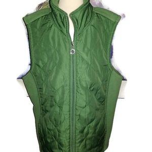 e Studio Women's Green Vest